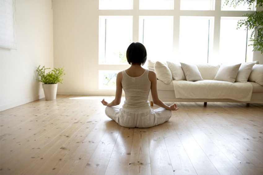 home yoga class image